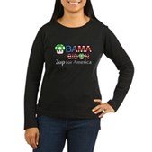 2up for America Women's Long Sleeve Dark T-Shirt