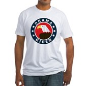 Obama-Biden Eagle Fitted T-Shirt
