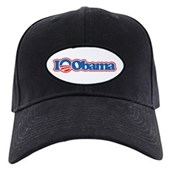 I Love Obama Black Cap