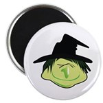 Happy Green Witch Magnet