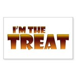Glowing I'm the Treat Rectangle Sticker 10 pk)