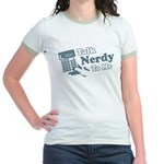 Talk Nerdy To Me Jr. Ringer T-Shirt
