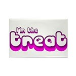 Retro I'm the Treat Rectangle Magnet (10 pack)