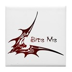 Bite Me Tile Coaster