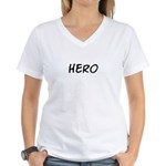 HERO Women's V-Neck T-Shirt