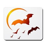 Flying Vampire Bats Mousepad
