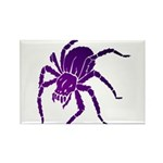 Purple Spider Rectangle Magnet (10 pack)