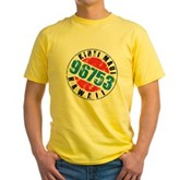 Vintage Kihei Maui 96753 Yellow T-Shirt
