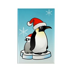 Birdorable Penguin Santa Rectangle Magnet