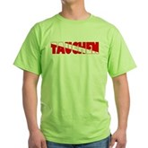 Tauchen German Scuba Flag Green T-Shirt