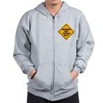 May Contain Nuts! Zip Hoodie