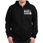 That's How I Roll Zip Hoodie (dark)