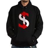 Scuba Flag Dollar Sign Hoodie (dark)