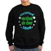 Enriched Air Diver 2008 Sweatshirt (dark)