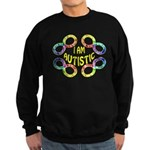 I Am Autistic Sweatshirt (dark)