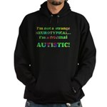 Normal Autistic Hoodie (dark)