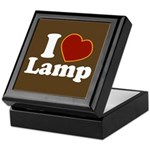 I Love Lamp Keepsake Box
