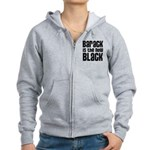 Barack is the New Black Women's Zip Hoodie