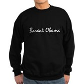 Script Barack Obama Sweatshirt (dark)