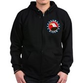 Obama-Biden Eagle Zip Hoodie (dark)