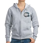 Where's My Quarter? Women's Zip Hoodie