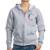 C stands for Colbert Women's Zip Hoodie