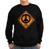 Peace Ahead Sweatshirt (dark)