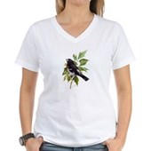 Rose-breasted Grosbeak Women's V-Neck T-Shirt