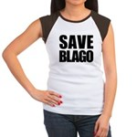 Save Illinois Governor Blagojevich, he's innocent! Women's Cap Sleeve T-Shirt
