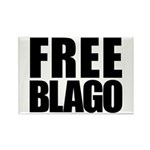 Free Illinois Governor Blagojevich, he's innocent! Rectangle Magnet