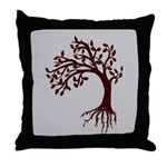 Autumn Wind Throw Pillow