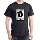 Rated D: Diver Dark T-Shirt