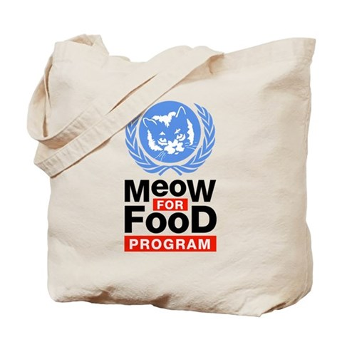 Meow For Food Program Tote Bag