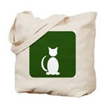 Cat Restroom: Cat Only Tote Bag