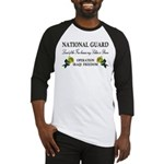 National Guard Soldier is Brave Baseball Jersey