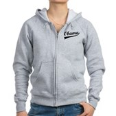 Obama Swish Women's Zip Hoodie