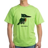 Green Kingfisher Green T-Shirt