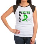 Kidney Cancer Warrior Women's Cap Sleeve T-Shirt