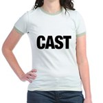 Cast Member T-Shirts Jr. Ringer T-Shirt