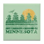 Minnesota Tile Coaster
