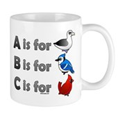 B is for Birdorable Mug