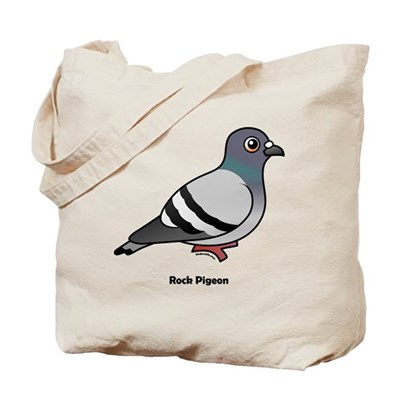 Birdorable Rock Pigeon Tote Bag