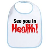 See You In Health! Bib