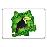Save the Rainforest Banner