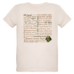 Shakespeare Insults T-shirts & Gifts Organic Kids T-Shirt