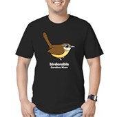 Birdorable Carolina Wren Men's Fitted T-Shirt (dar
