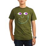 Eye Contact Organic Men's T-Shirt (dark)