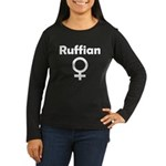 Ruffian Women's Long Sleeve Dark T-Shirt