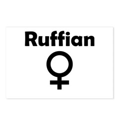 Ruffian Postcards (Package of 8)