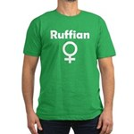 Ruffian Men's Fitted T-Shirt (dark)